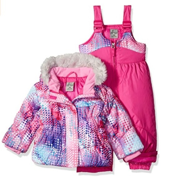 66e69539a ZeroXposur Jackets & Coats | Girls Dora Snowsuit Jacket Bibs 18 Mo ...